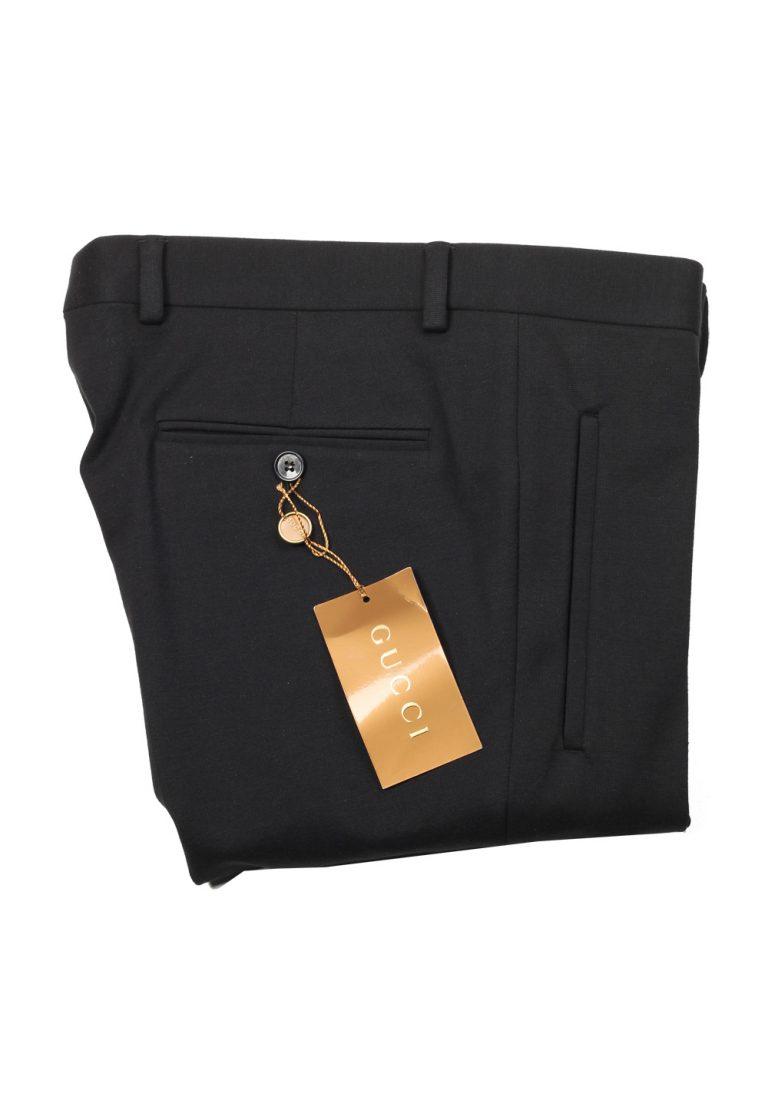 Gucci Black Trousers Size 46 / 30 U.S. Cotton Blend - thumbnail | Costume Limité