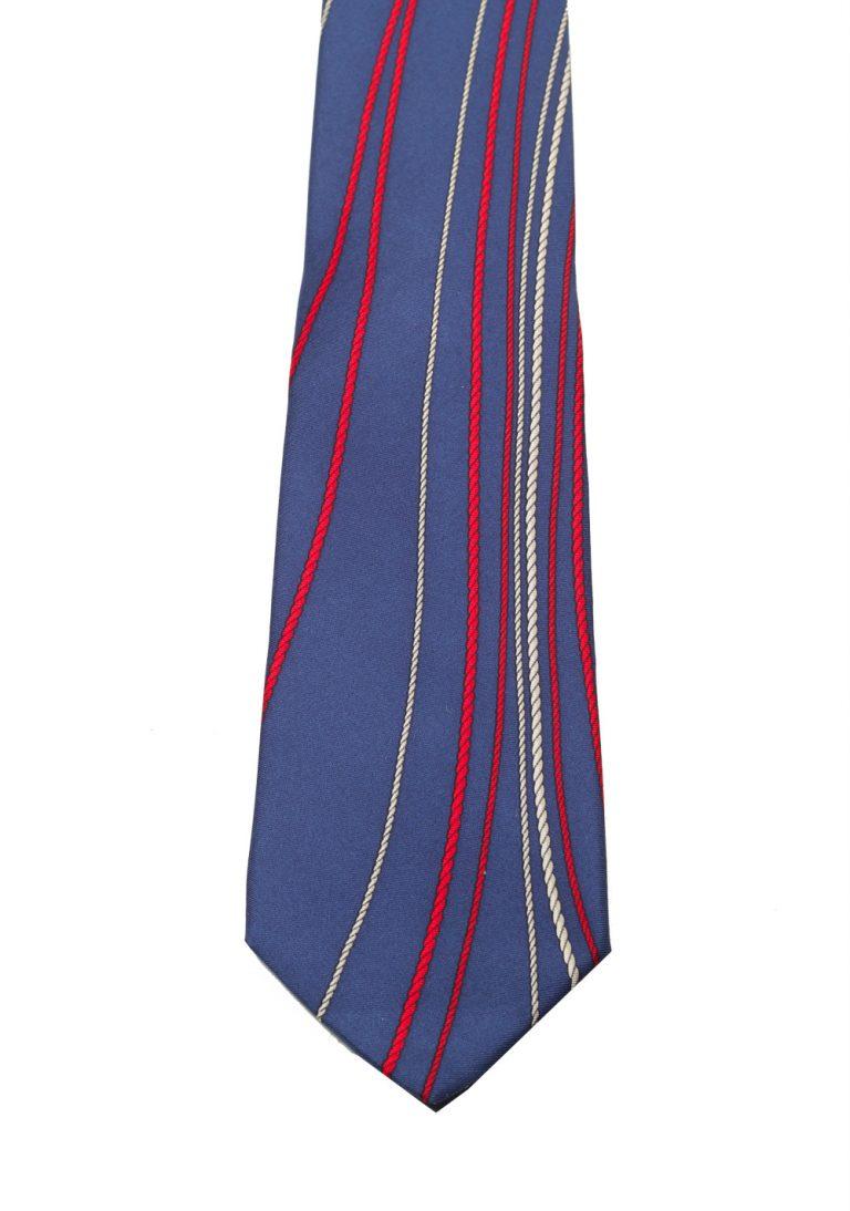 Gucci Blue Patterned Rope Tie - thumbnail | Costume Limité
