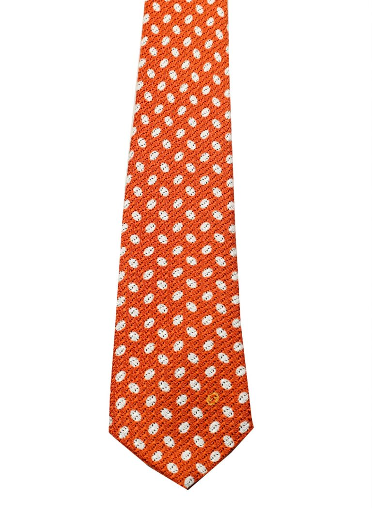 Gucci Orange Patterned Dot Tie - thumbnail | Costume Limité