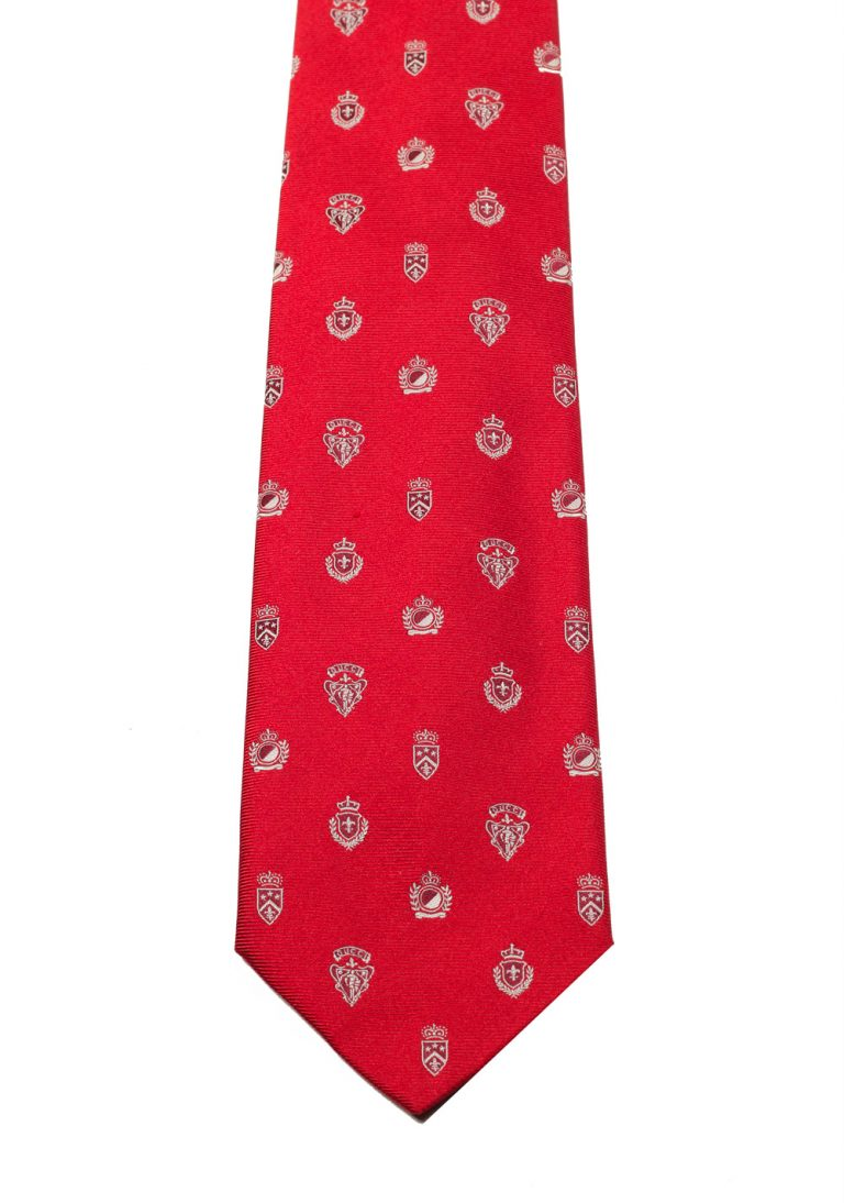 Gucci Red Patterned Tie - thumbnail | Costume Limité