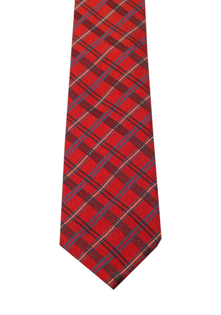Gucci Red Checked Patterned Tie - thumbnail | Costume Limité