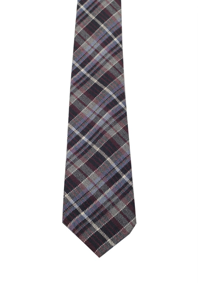 Gucci Multi Colored Patterned Checked Tie - thumbnail | Costume Limité