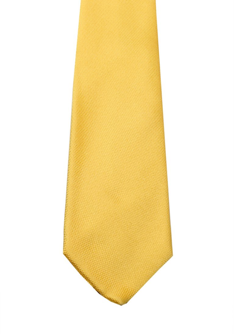 Gucci Yellow Patterned Tie - thumbnail | Costume Limité