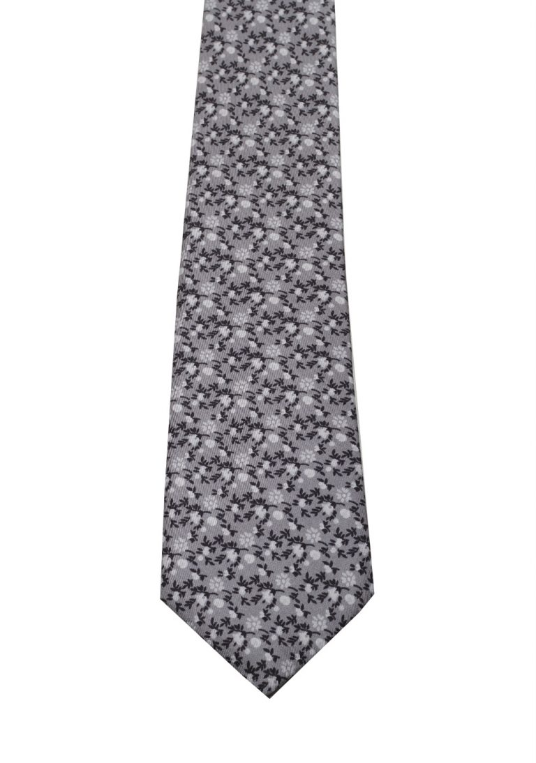 Gucci Gray Patterned Flower Tie - thumbnail | Costume Limité