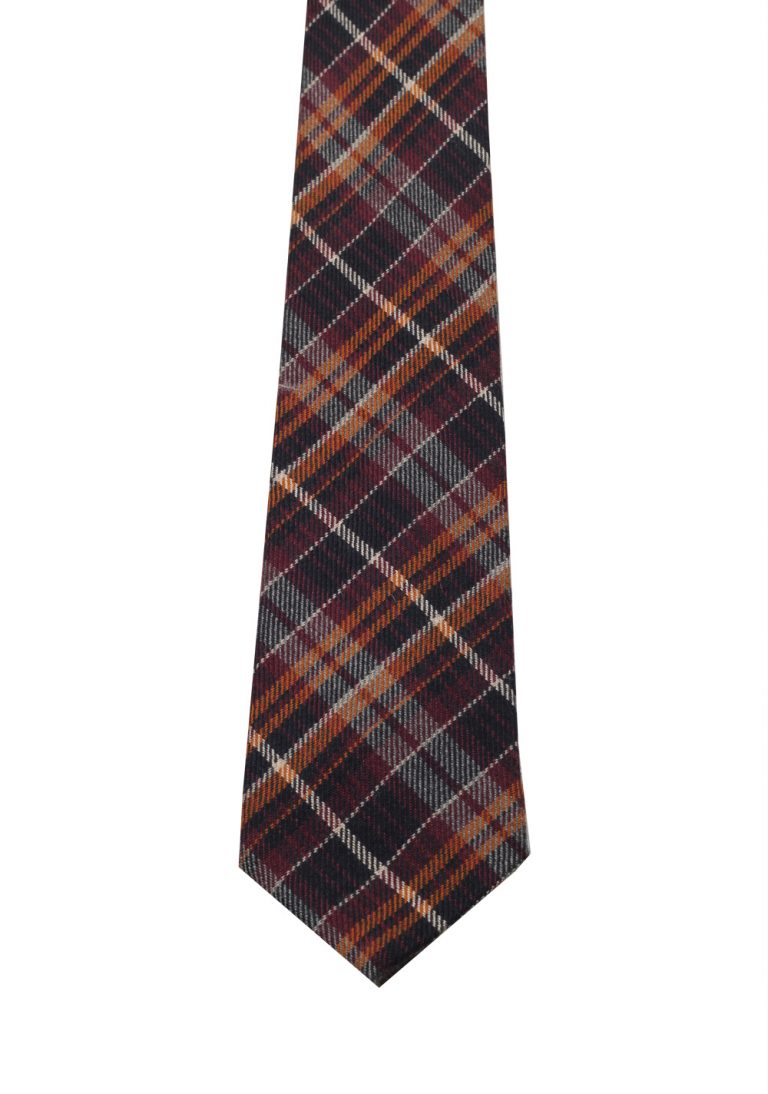 Gucci Brown Patterned Checked Tie - thumbnail | Costume Limité