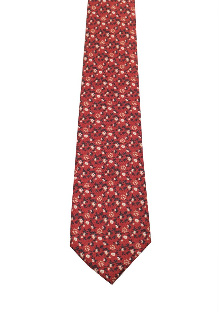 Gucci Brown Patterned Tie - thumbnail | Costume Limité
