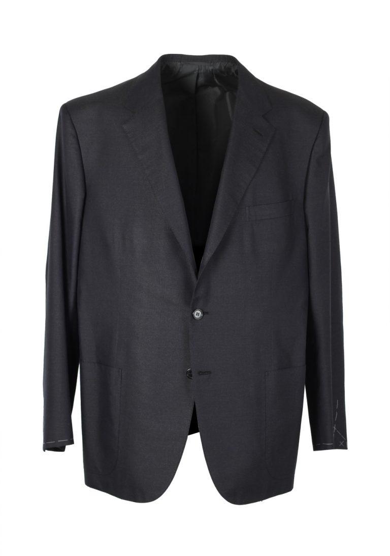 Brioni Gray Sport Palatino Coat Size 56 / 46R U.S. Silk Cotton - thumbnail | Costume Limité