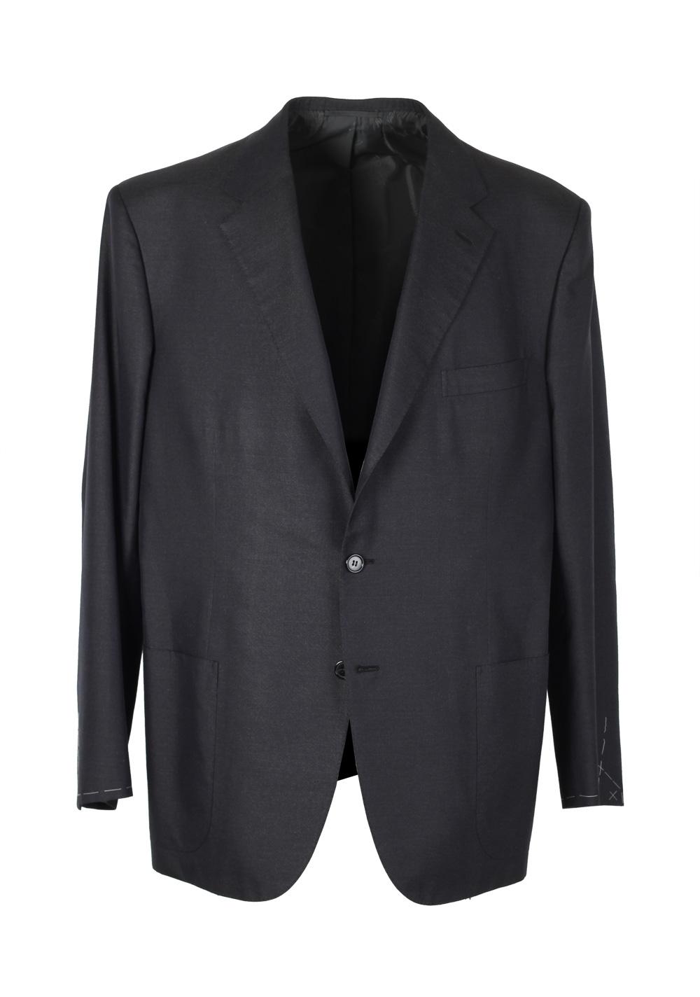 Brioni Gray Sport Palatino Coat Size 56 / 46R U.S. Silk Cotton   Costume Limité