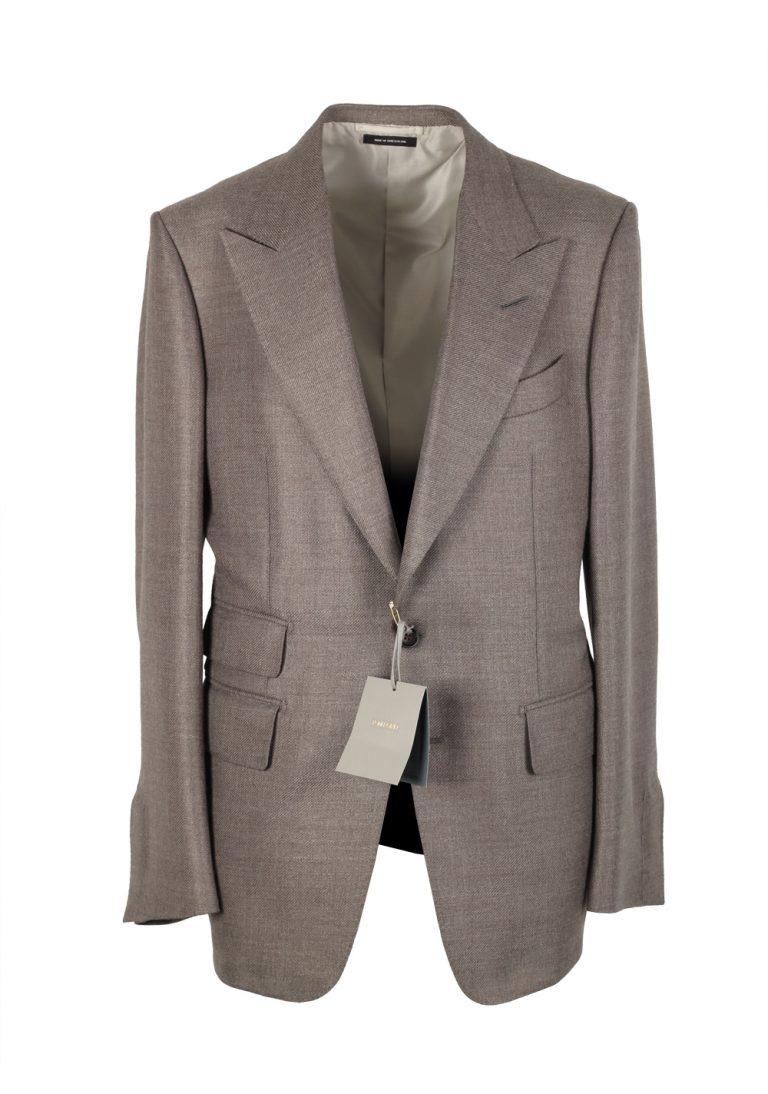 TOM FORD Shelton Beige Sport Coat Size 54 / 44R Wool Rayon - thumbnail | Costume Limité