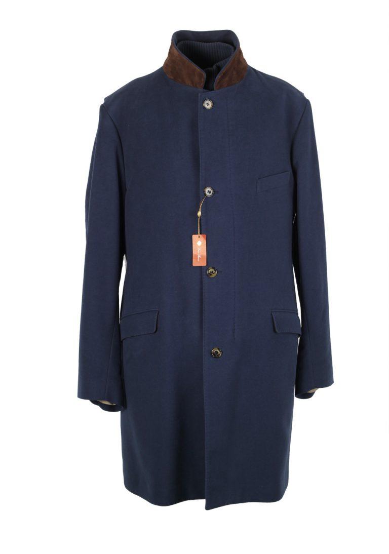 Loro Piana Blue Storm System Coat Size 56 / 46 U.S. Outerwear - thumbnail | Costume Limité