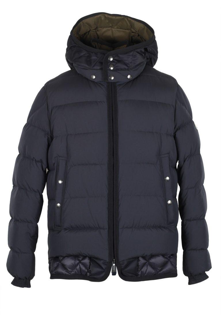 Moncler Blue Tanguy Quilted Down Jacket Coat Size 2 / M / 48 / 38 U.S. - thumbnail | Costume Limité