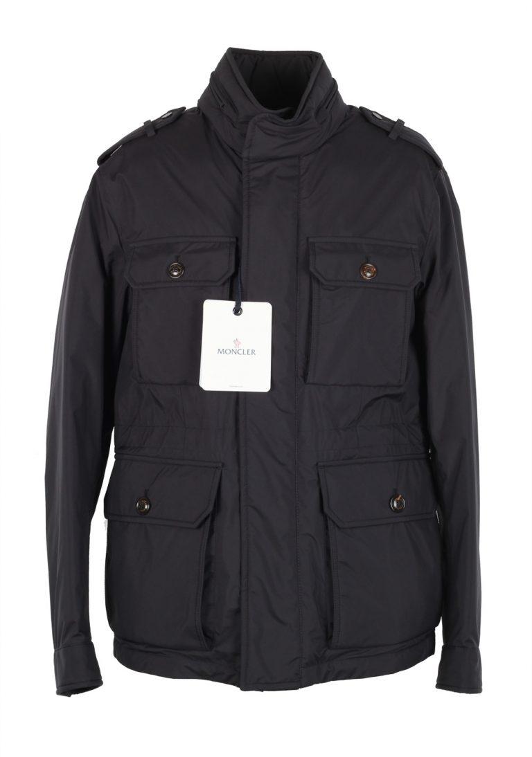 Moncler Blue Eusebe Field Jacket Coat Size 1 / S / 46 / 36 U.S. - thumbnail | Costume Limité