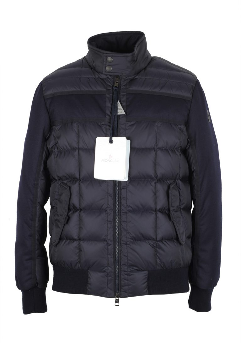 Moncler Blue Aramis Quilted Down Jacket Coat Size 6 / XL / 56 / 46R U.S. - thumbnail | Costume Limité