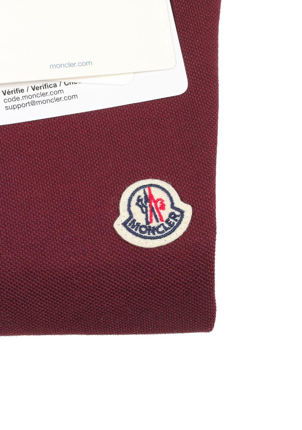 e16412d85ac8 Moncler Red Long Sleeve Polo Shirt Size M   38R U.S.