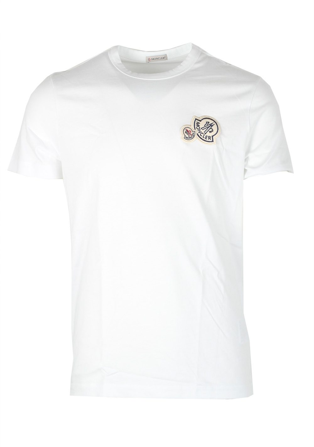 moncler white crew neck t shirt