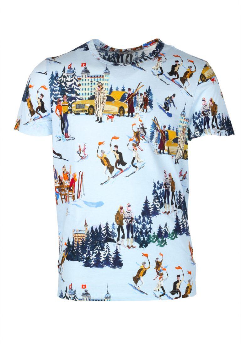 Moncler x Jean-Philippe Delhomme  Blue Tee Shirt Size M / 38R U.S. - thumbnail | Costume Limité