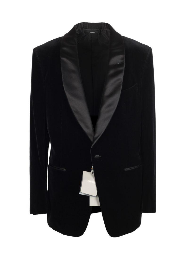 TOM FORD Windsor Shawl Collar Black Sport Coat Tuxedo Dinner Jacket Size 52 / 42R U.S. Fit A - thumbnail | Costume Limité