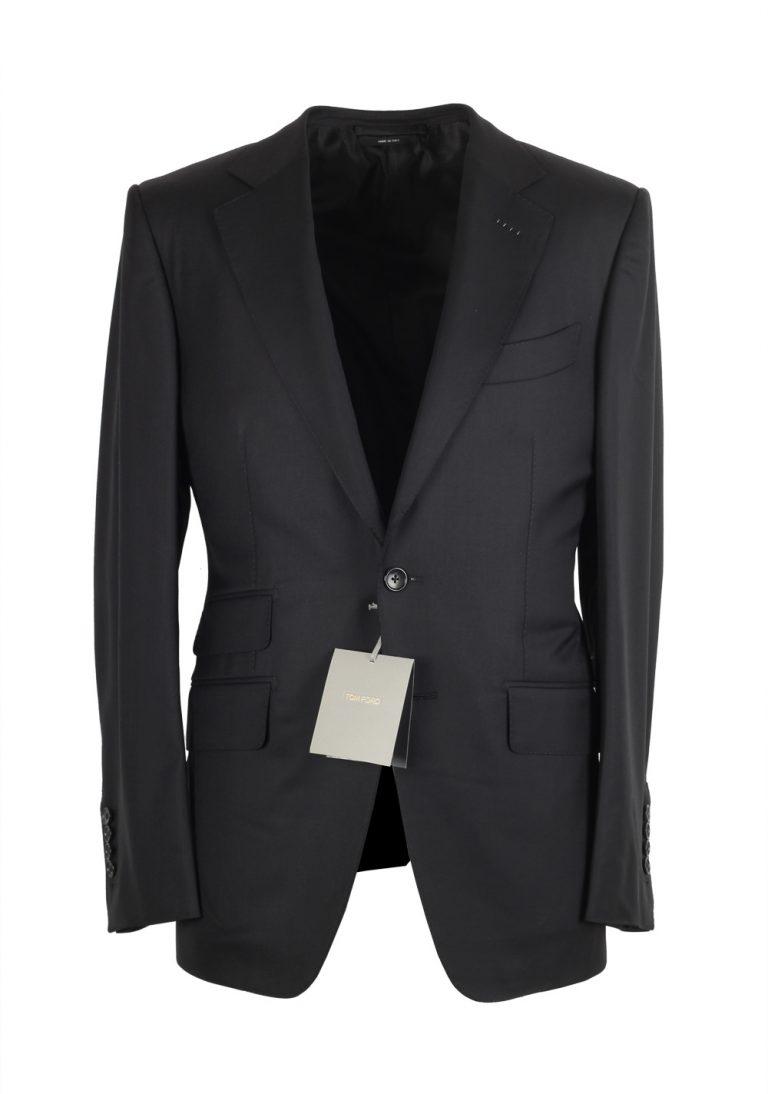 TOM FORD O'Connor Black Suit Size 52C / 42S U.S. Wool Fit Y - thumbnail | Costume Limité