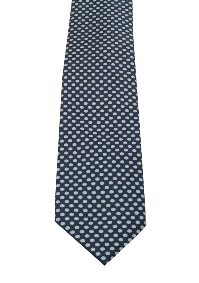 TOM FORD Patterned Blue Tie In Silk - thumbnail | Costume Limité