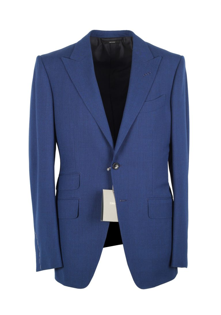 TOM FORD O'Connor Royal Blue Suit Size 56 / 46R U.S. Wool Fit Y - thumbnail | Costume Limité
