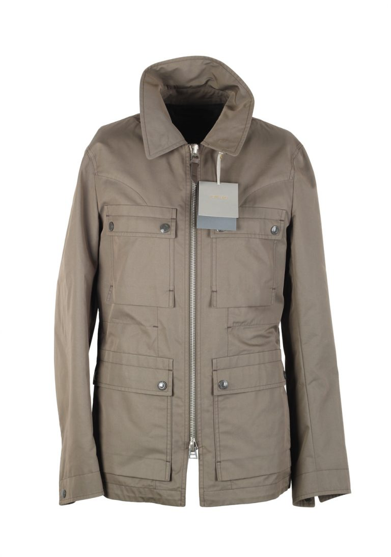TOM FORD Grayish Beige Field Jacket Coat Size 48 / 38R U.S. Outerwear - thumbnail | Costume Limité