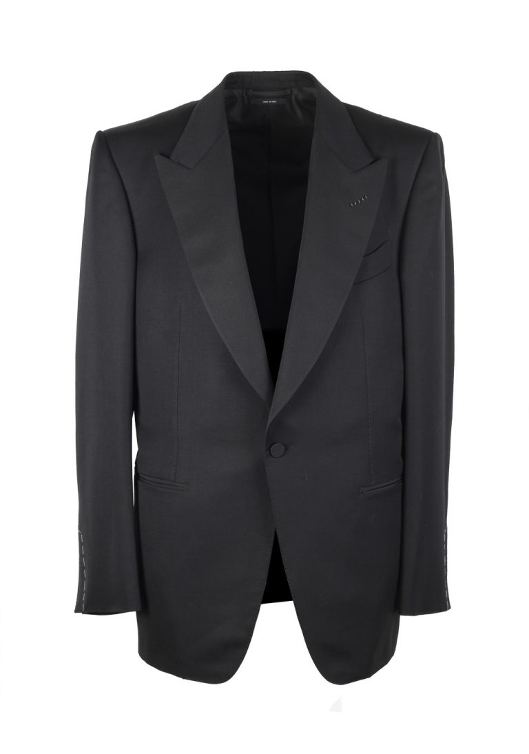 TOM FORD Windsor Black Sport Coat Tuxedo Dinner Jacket Size 52 / 42R U.S. Fit A - thumbnail | Costume Limité
