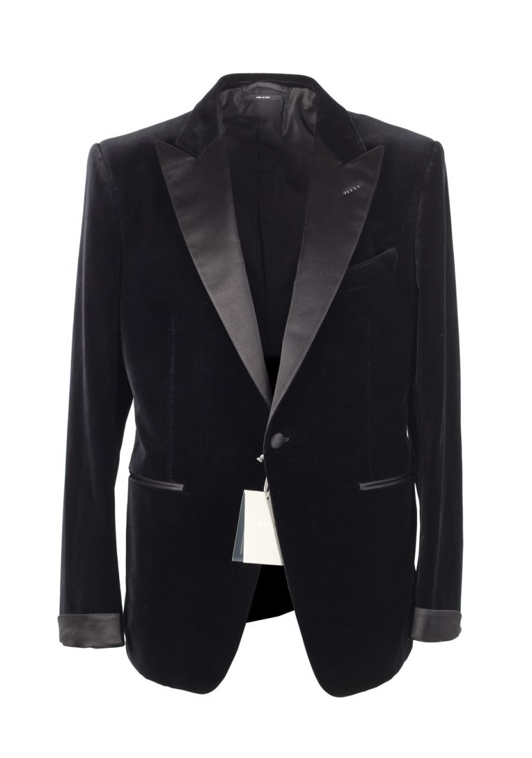 TOM FORD O'Connor Black Sport Coat Tuxedo Dinner Jacket Size 52C / 42S U.S. Fit Y - thumbnail | Costume Limité