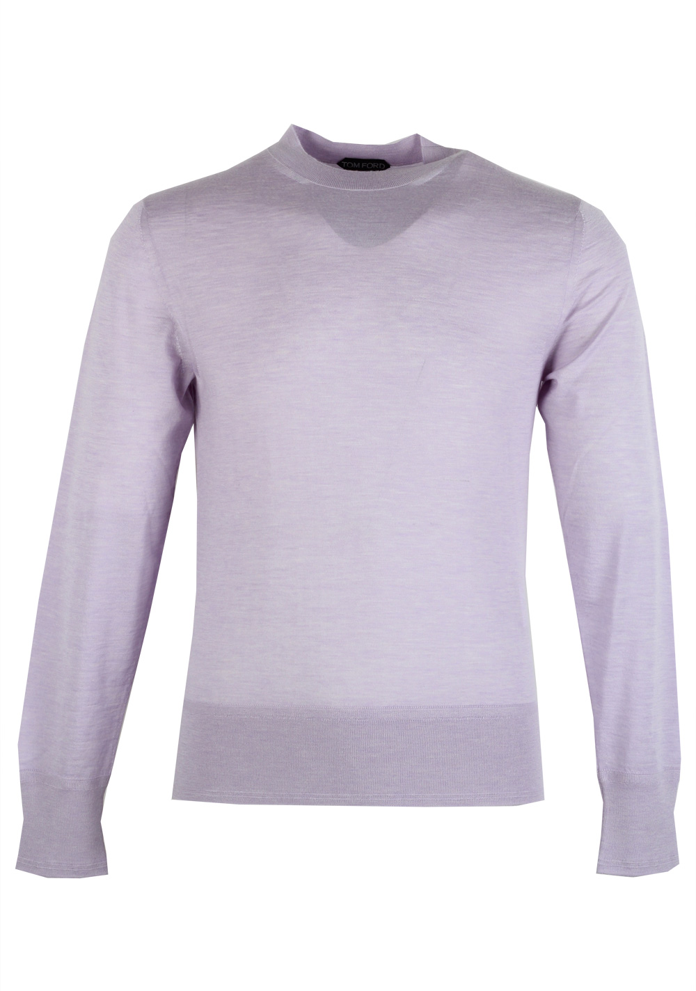 TOM FORD Lilac Crew Neck Sweater Size 48 / 38R U.S. In Cashmere   Costume Limité
