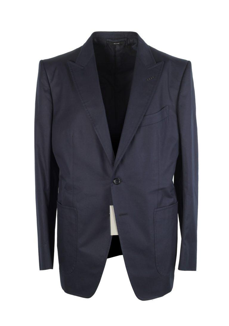 TOM FORD O'Connor Blue Suit Size 54 / 44R U.S. Cotton Fit Y - thumbnail | Costume Limité