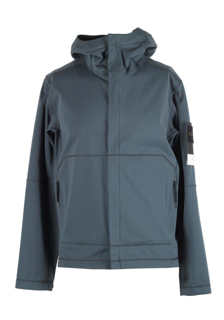 Stones Island 42426 Blue Gray Soft Shell Coat Size XL / 52 / 42 U.S. - thumbnail | Costume Limité