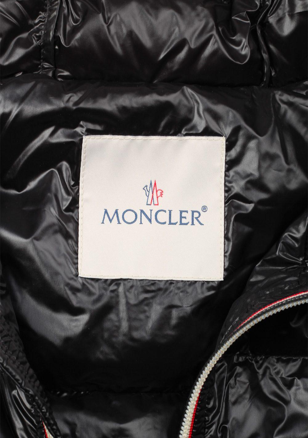 Moncler Black Gien Hooded Shell Gilet Vest Size 3 / M / 50 / 40 U.S. | Costume Limité