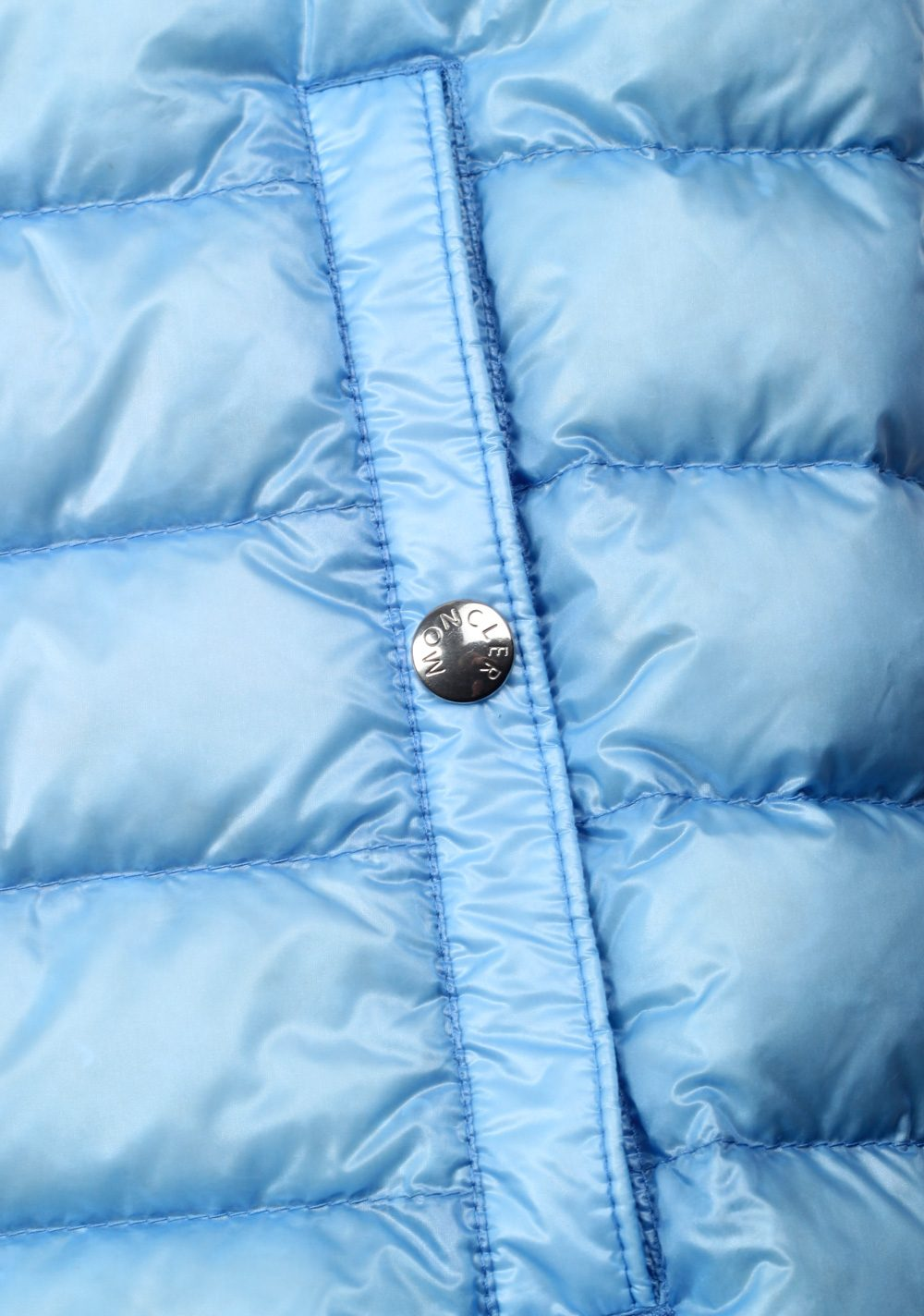 Moncler Blue Gien Hooded Shell Gilet Vest Size 3 / M / 50 / 40 U.S. | Costume Limité