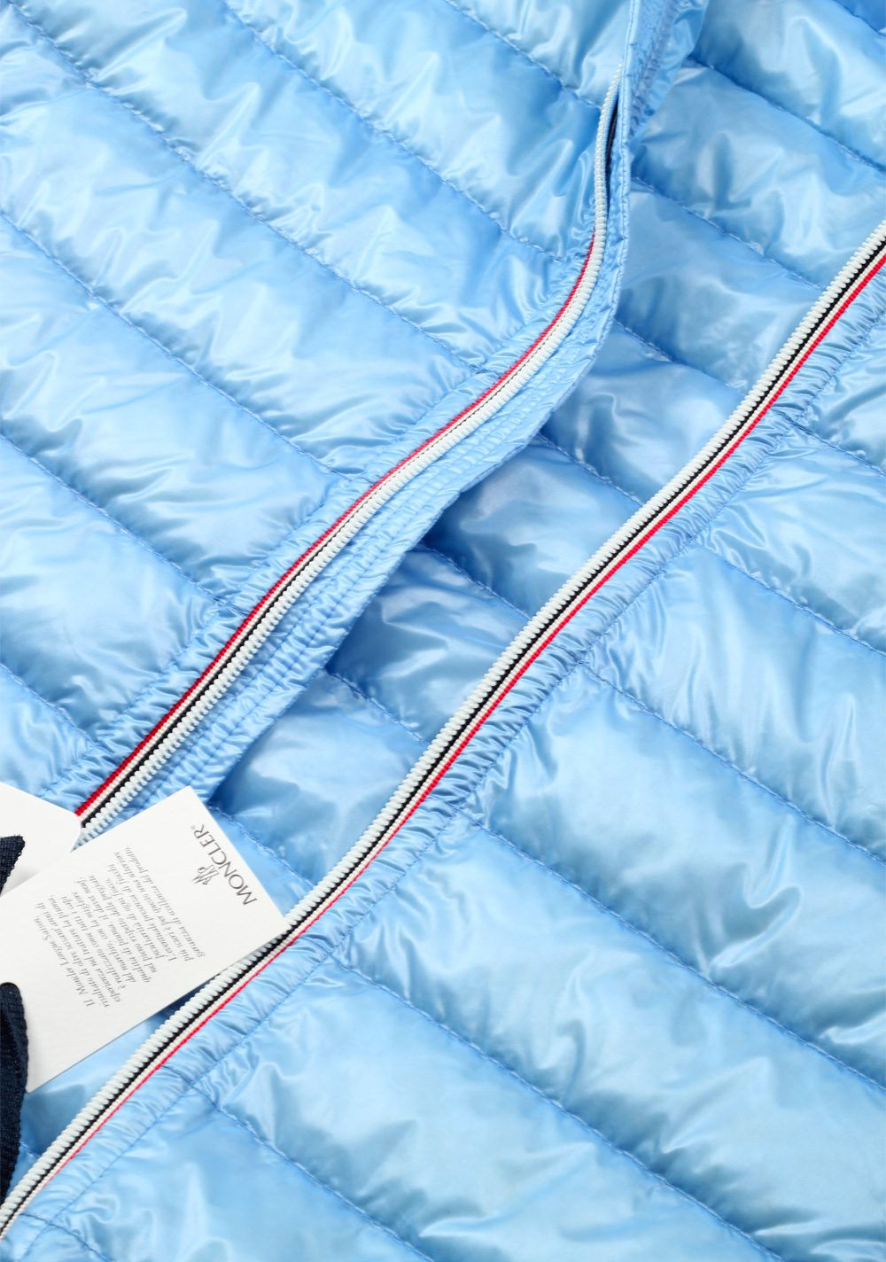 Moncler Blue Gien Hooded Shell Gilet Vest Size 5 / XL / 54 / 44 U.S. | Costume Limité