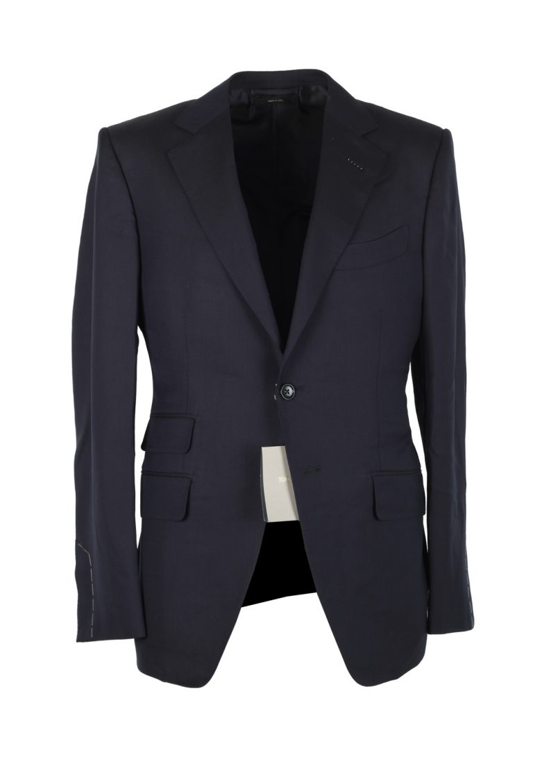 TOM FORD O'Connor Blue Suit Size 46C / 36S U.S. Wool Fit Y - thumbnail | Costume Limité