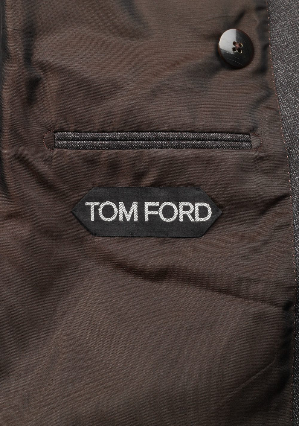 TOM FORD Shelton Double Breasted Blue Suit Size 48 / 38R U.S. In Wool | Costume Limité