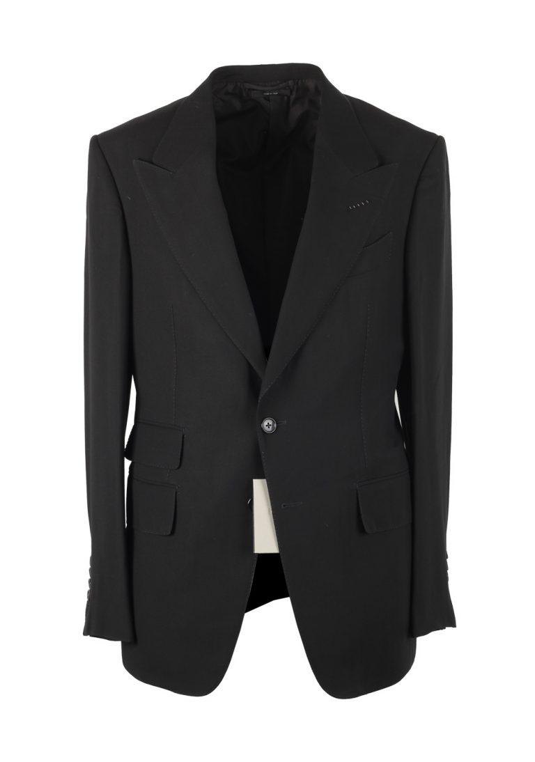 TOM FORD Shelton Black Suit Size 48 / 38R U.S. In Wool Blend - thumbnail | Costume Limité