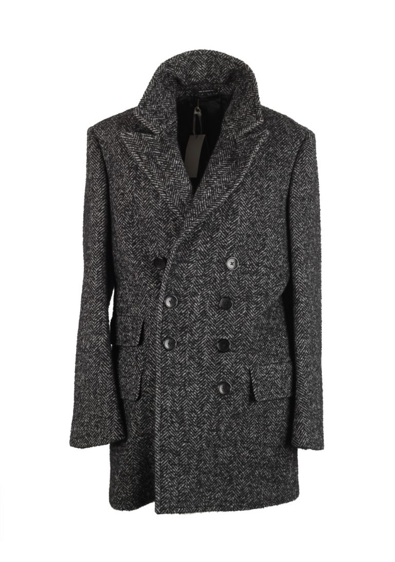 TOM FORD Gray Pea Coat Size 48 / 38R U.S. Outerwear - thumbnail | Costume Limité