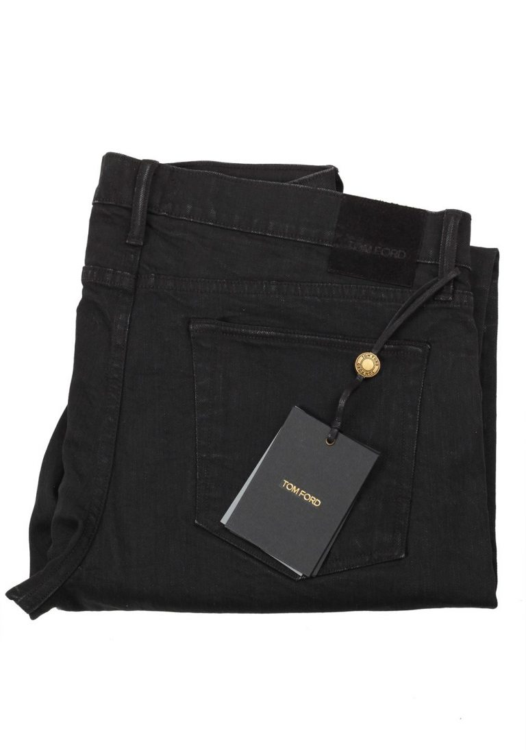 TOM FORD Black Slim Fit Jeans TFD001 Size 48 / 32 U.S. - thumbnail | Costume Limité
