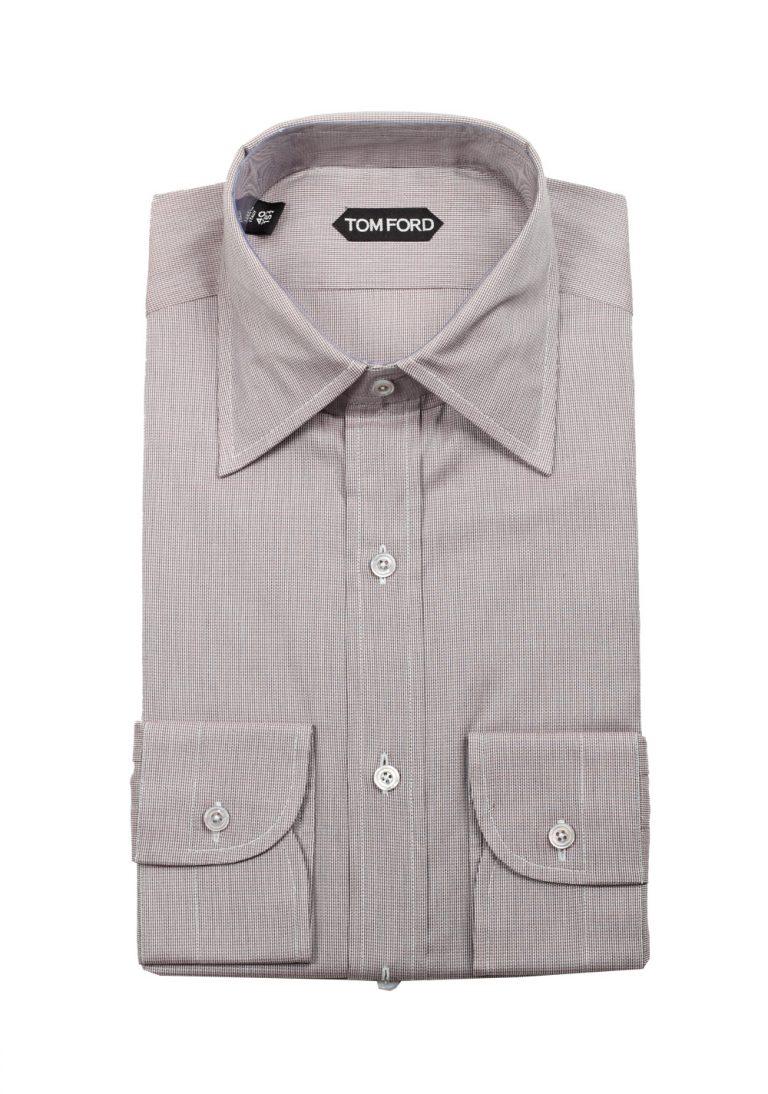 TOM FORD Gray Dress Shirt Size 40 / 15,75 U.S. - thumbnail | Costume Limité
