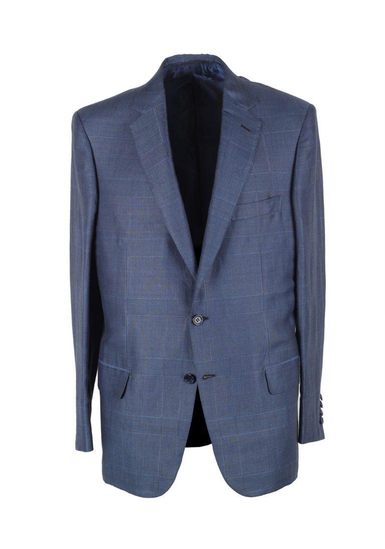 Brioni Blue  Colosseo Sport Coat Size 50 / 40R U.S. In Silk Cashmere - thumbnail | Costume Limité