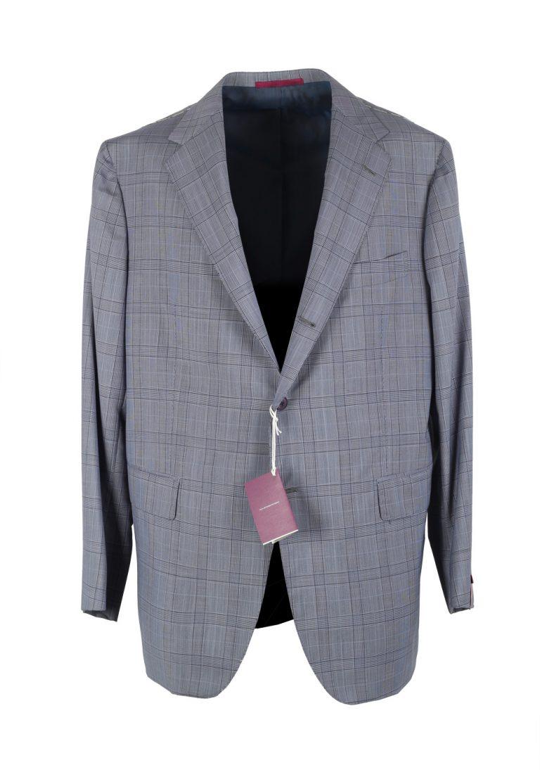 Sartoria Partenopea Blue Suit Size 58 / 48R U.S. In Wool Mohair - thumbnail   Costume Limité
