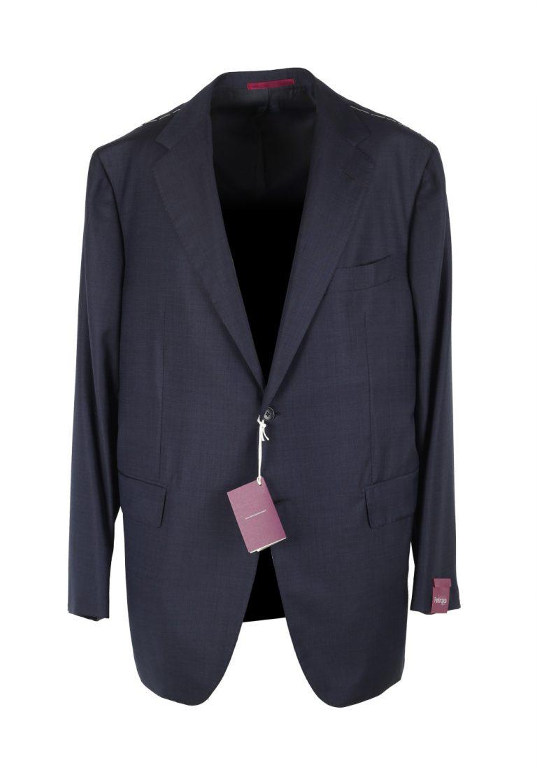 Sartoria Partenopea Blue Suit Size 58 / 48R U.S. In Wool - thumbnail   Costume Limité