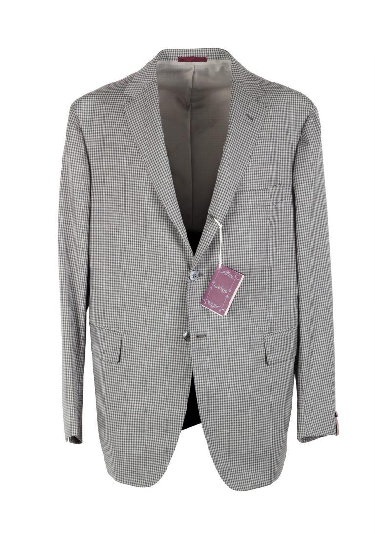 Sartoria Partenopea Gray Sport Coat Size 58 / 48R U.S. In Wool - thumbnail | Costume Limité