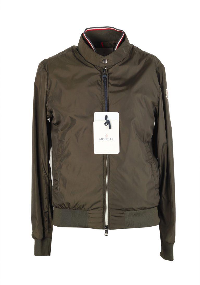 Moncler Green Miroir Zip Front Jacket Coat Size 5 / XL / 54 / 44R U.S. - thumbnail | Costume Limité