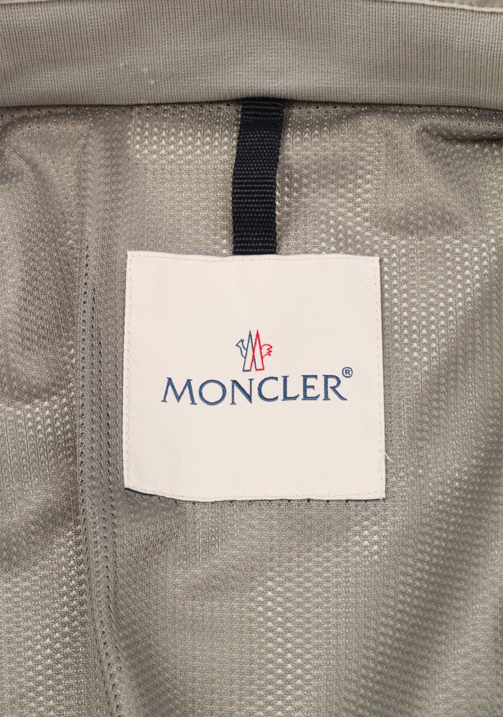 Moncler Beige Verte Bomber Jacket Coat Size 3 / M / 50 / 40 U.S. | Costume Limité