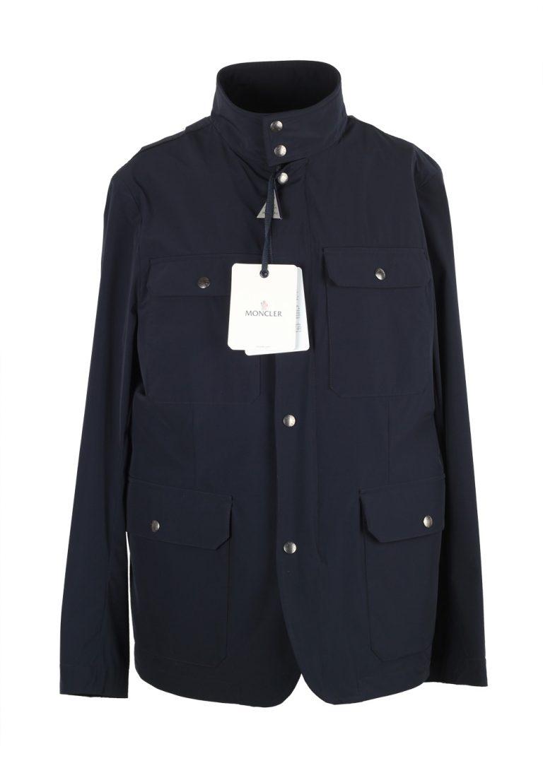 Moncler Blue Curan Field Jacket Coat Size 4 / L / 52 / 42 U.S. - thumbnail | Costume Limité