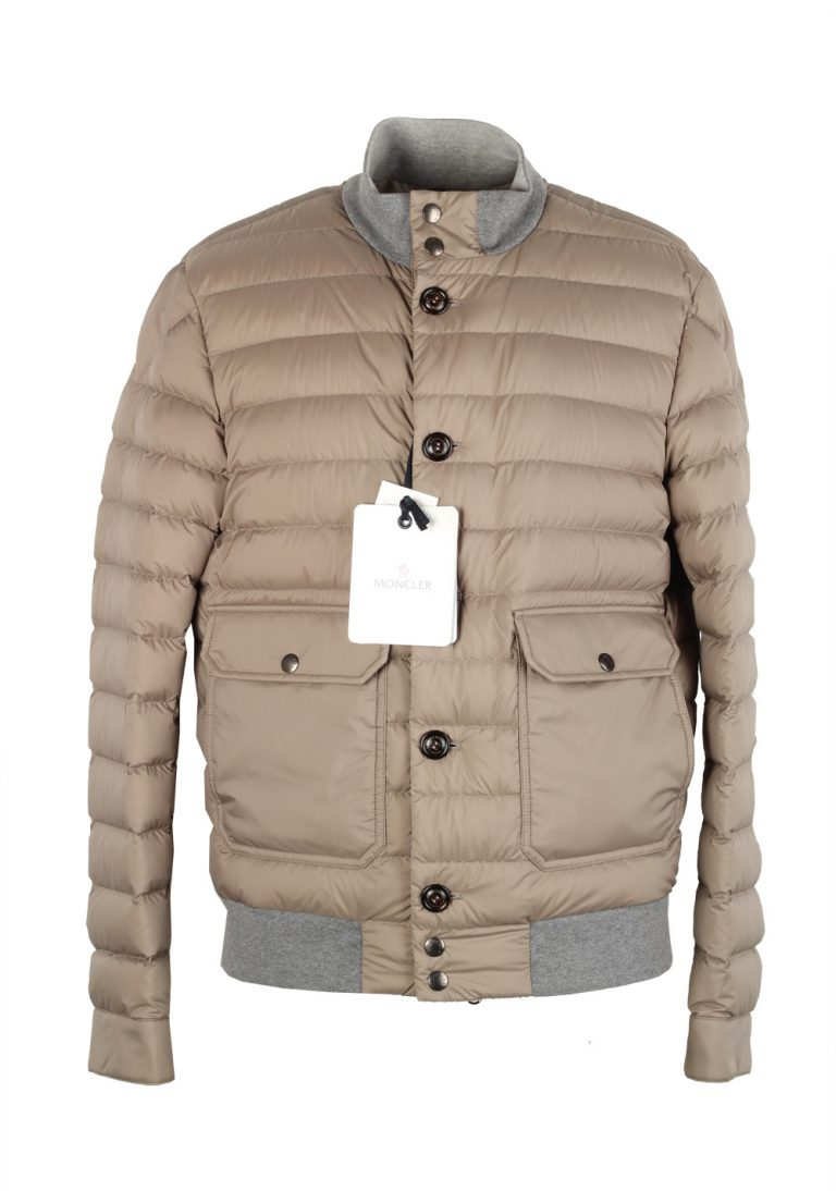 Moncler Beige Chaberton Coat Size 2 / M / 48 / 38 U.S. - thumbnail | Costume Limité