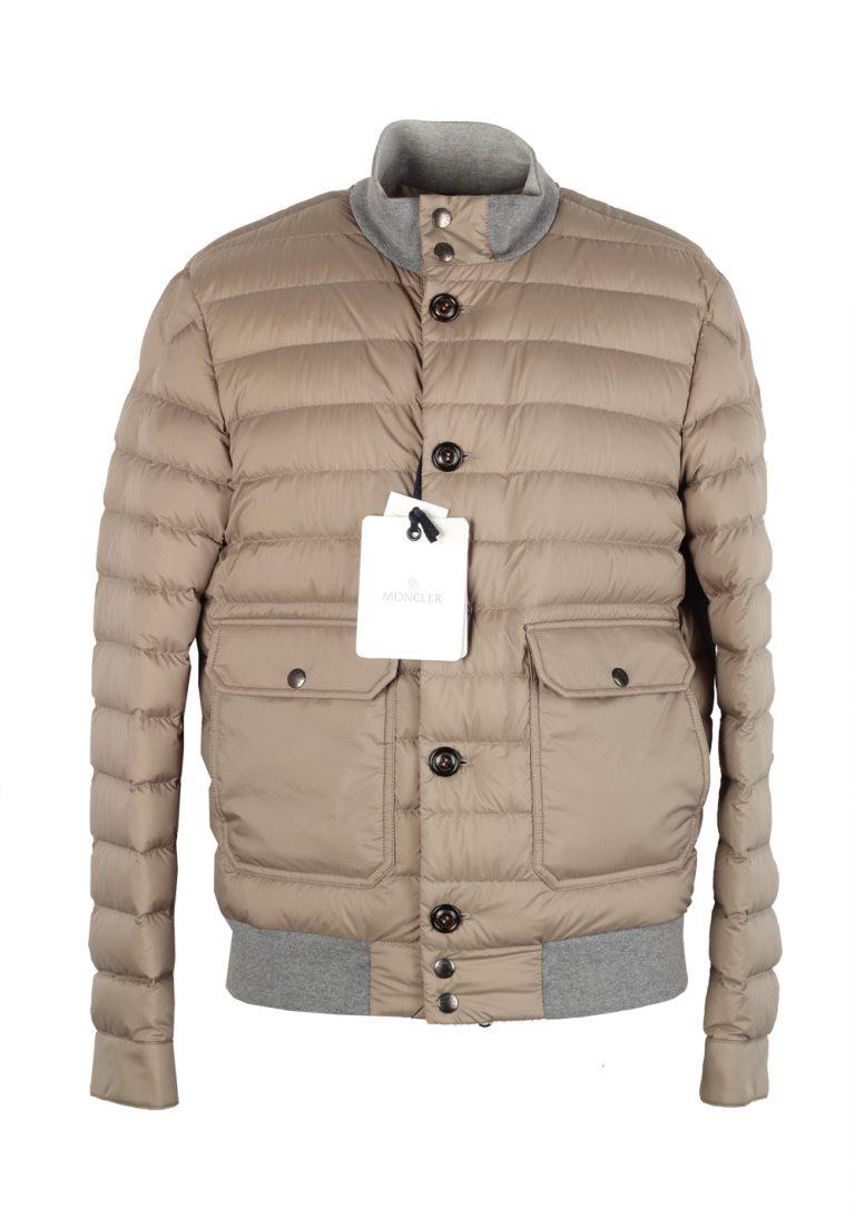 Moncler Beige Chaberton Coat Size 3 / M / 50 / 40 U.S. - thumbnail | Costume Limité