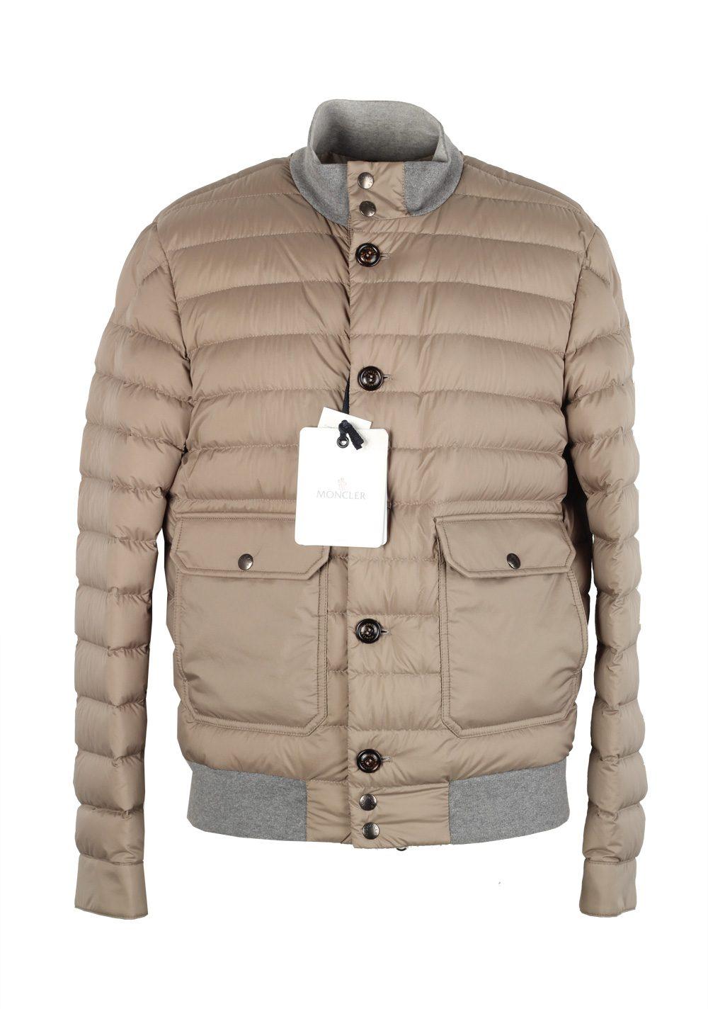 Moncler Beige Chaberton Coat Size 5 / XL / 54 / 44 U.S. | Costume Limité