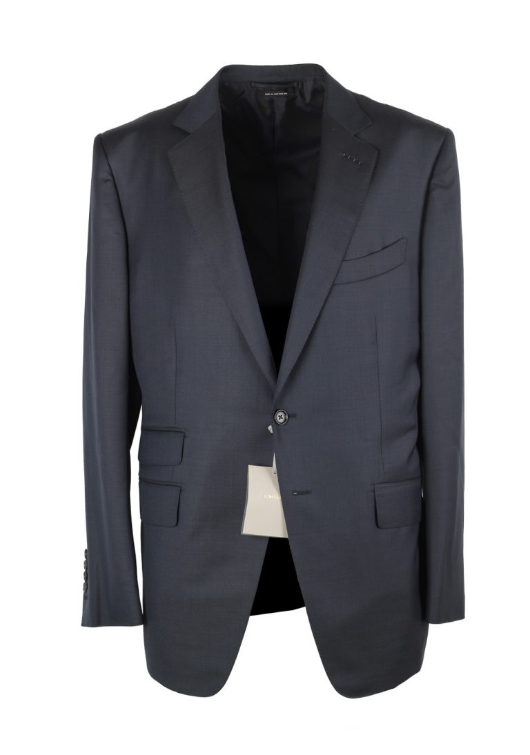 TOM FORD O'Connor Blue Suit Size 54C / 44S U.S. Wool Fit Y - thumbnail   Costume Limité
